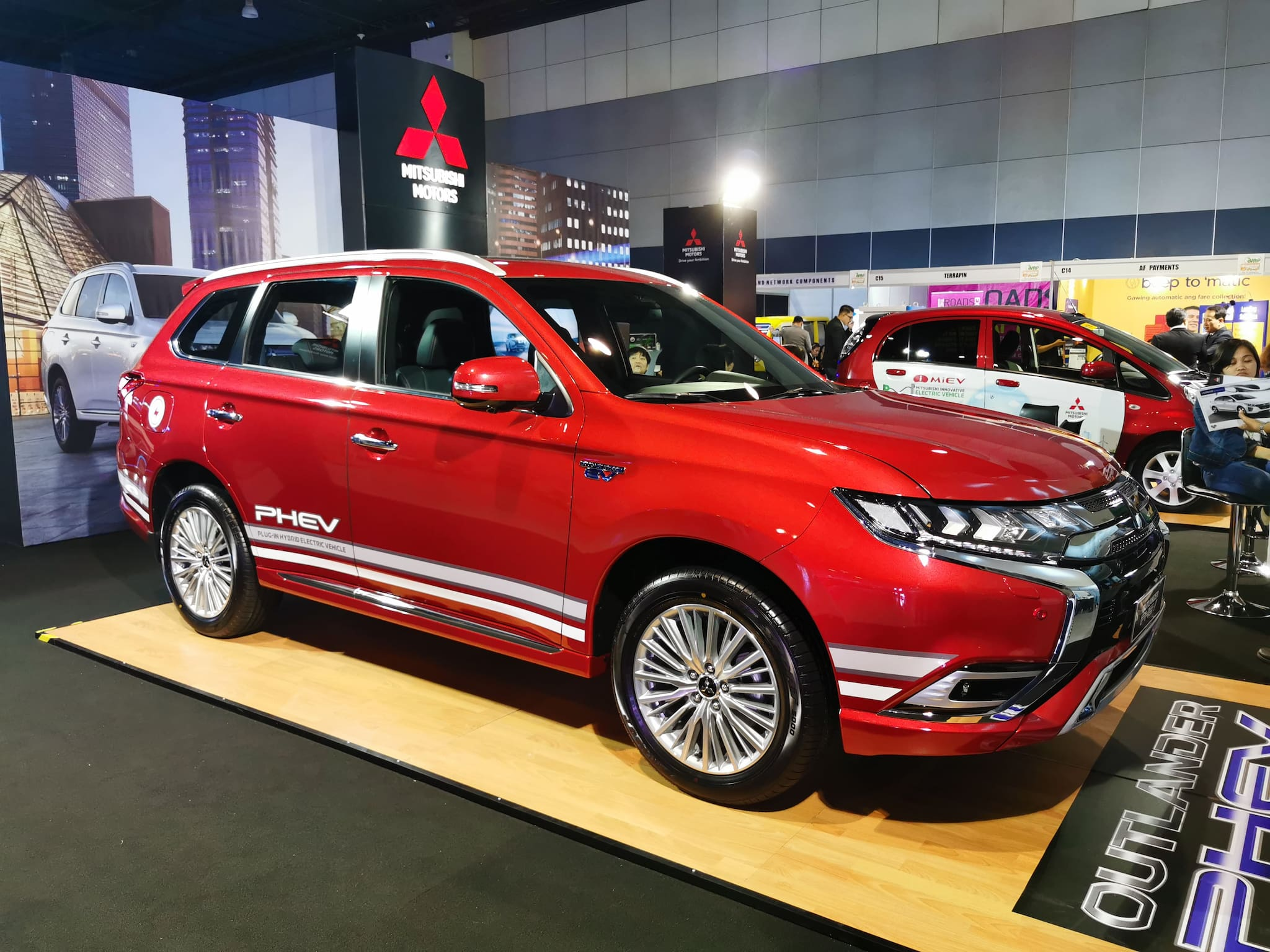 Mitsubishi to Introduce Outlander PHEV Yearend This Year