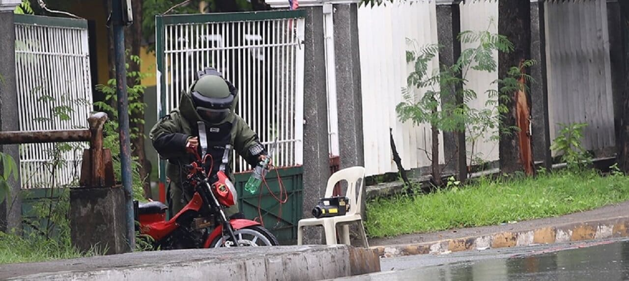 Someone Left a Motorcycle Outside Army HQ, Troops Were Sent In