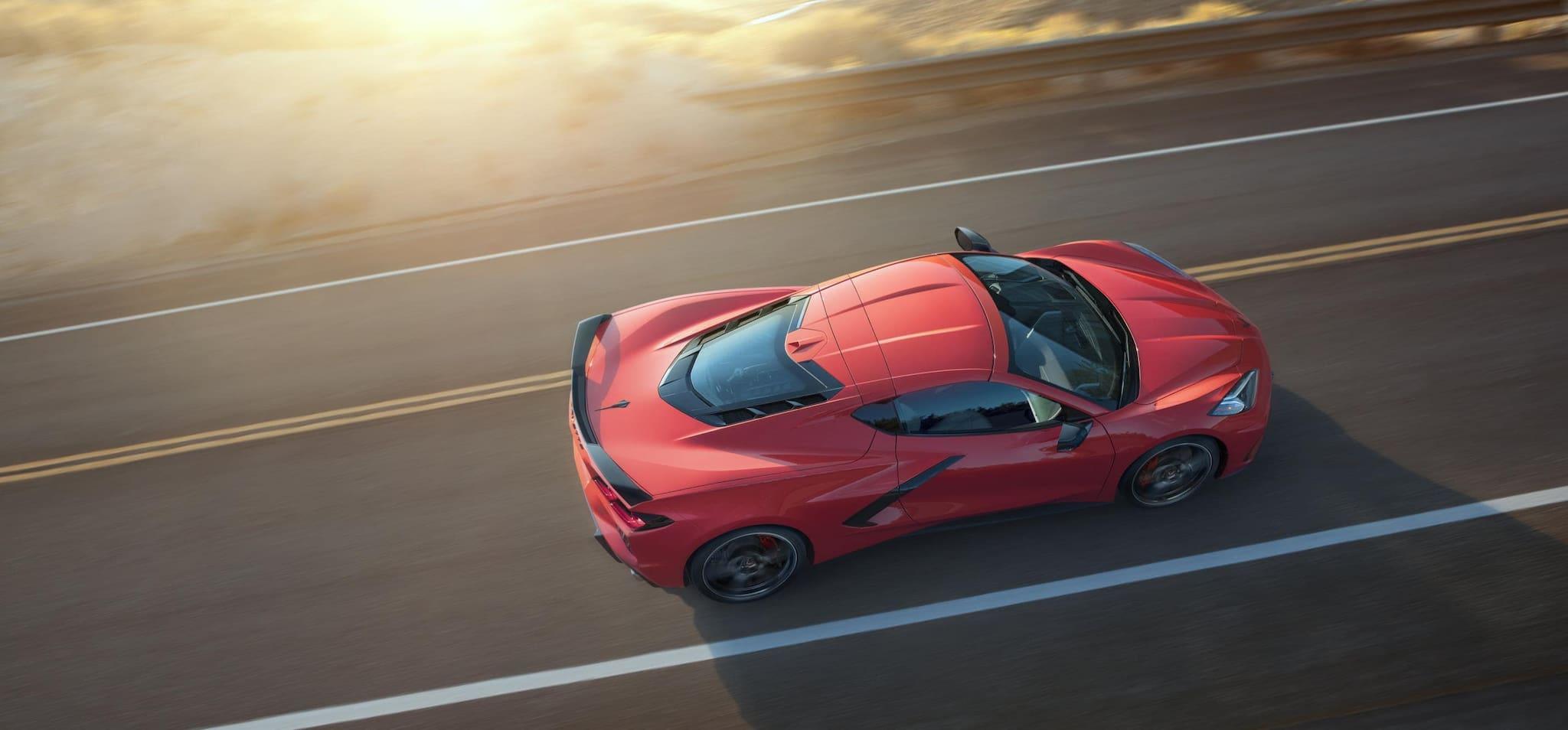 Chevrolet Releases C8 Corvette Paint and Interior Options