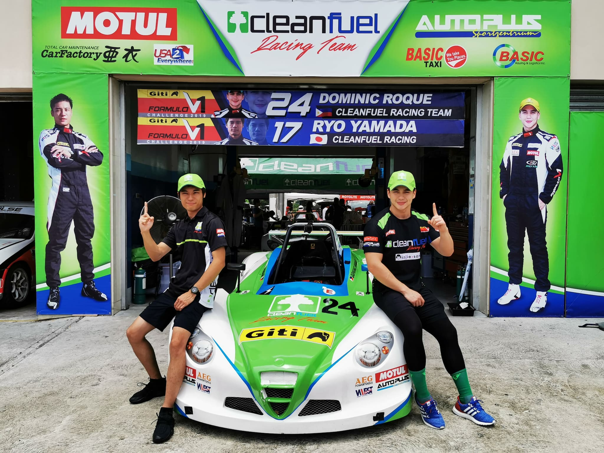Cleanfuel-Motul's Roque Earns Premier Podium Place in 2019 Formula V1 Round 2