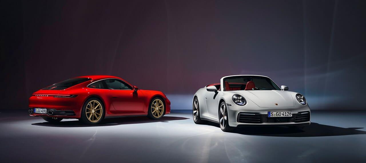 Porsche Unveils New 911 Carrera Coupé, Cabriolet Versions