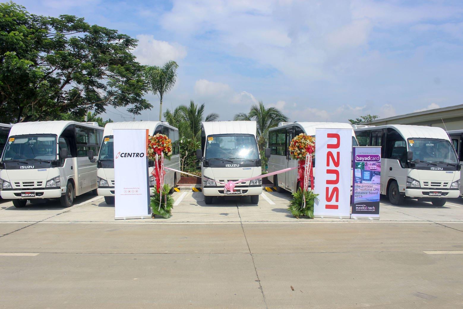 Isuzu PH Turns Over 16 Modern PUVs in Bulacan