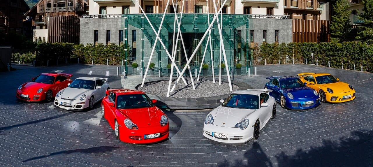 The Porsche 911 Gt3 Celebrating 20 Years Of Conquering Road And Track