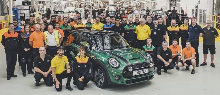 MINI's 10 Millionth Car Rolls Off Production Line