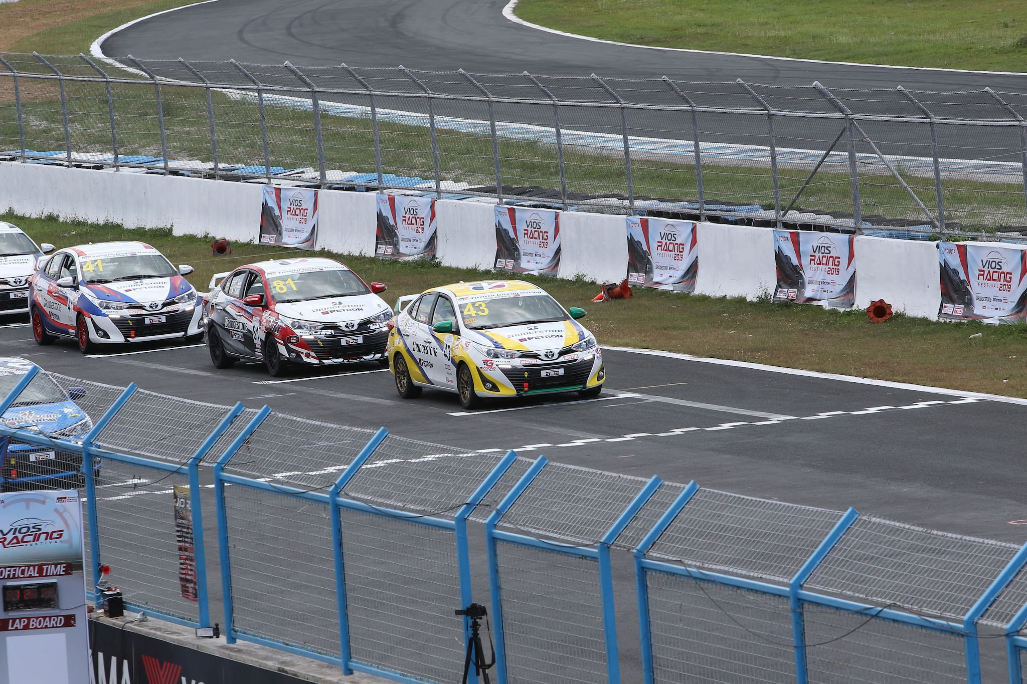 Watch the Waku-Doki Moments of the Toyota Vios Racing Festival on 5