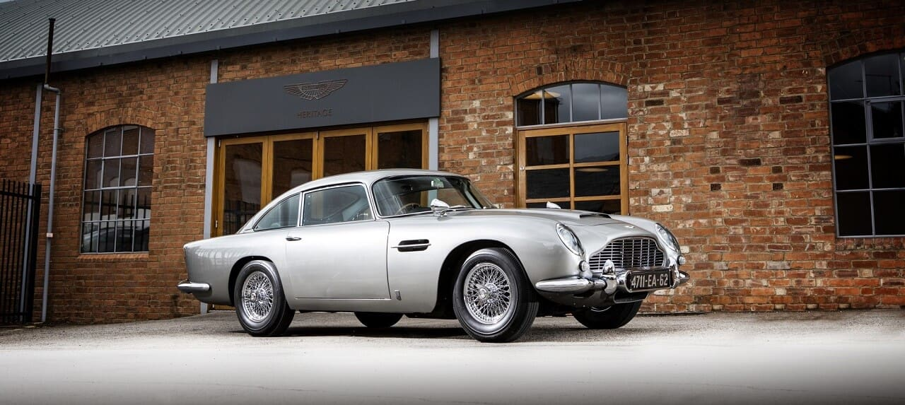 James Bond's 1965 Aston Martin DB5 Sells for Record-Braking USD6.4 Million at Auction