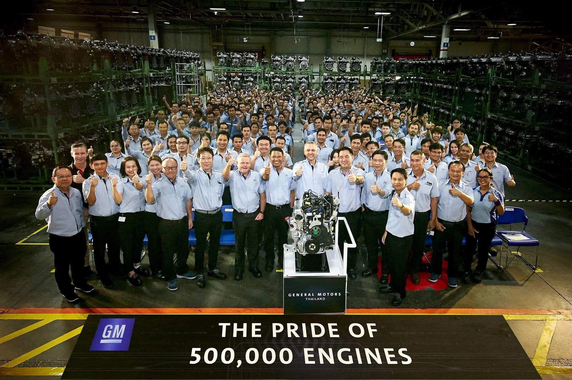 GM Powertrain Thailand Celebrates 500,000th Engine Production Milestone