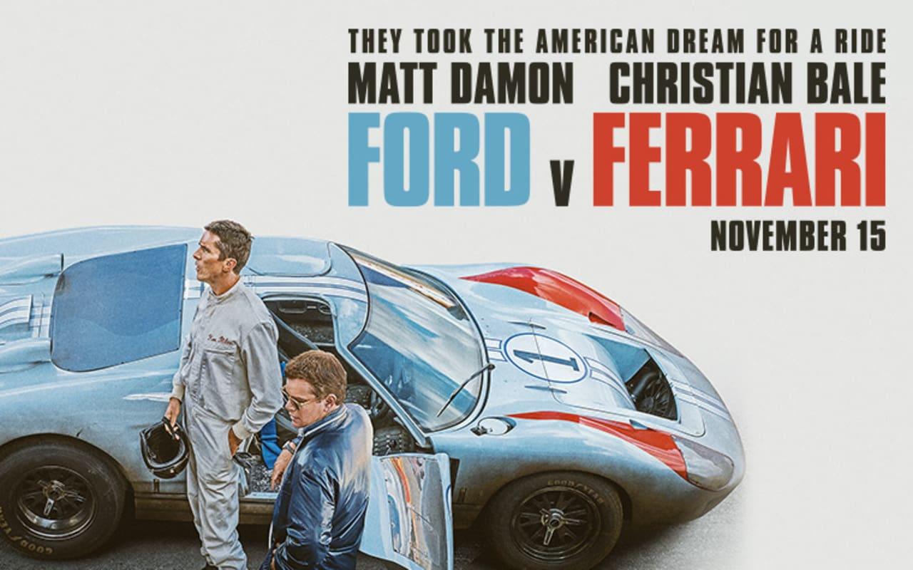 """A Story of Revenge, Ambition and Success: \""""Ford v Ferrari\"""" Stars Matt Damon, Christian Bale"""