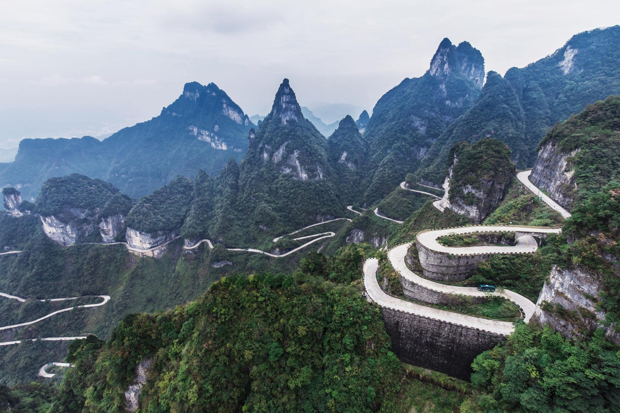 Volkswagen ID.R Targets Record on Tianmen Mountain Today