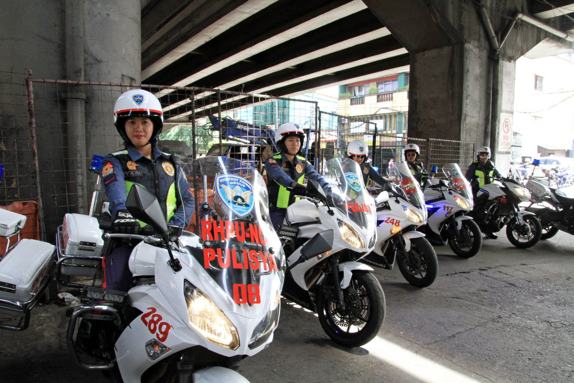 HPG Fields All-Women Riders Team to Help Ease EDSA Traffic