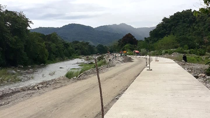 Road to Antong Falls in Pangasinan Undergoing Improvement