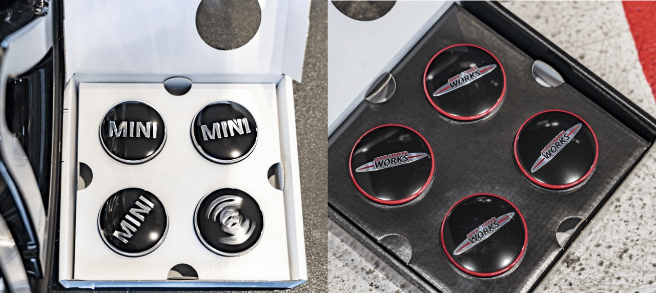 AFTERMARKET: MINI Flaunts Floating Hub Caps