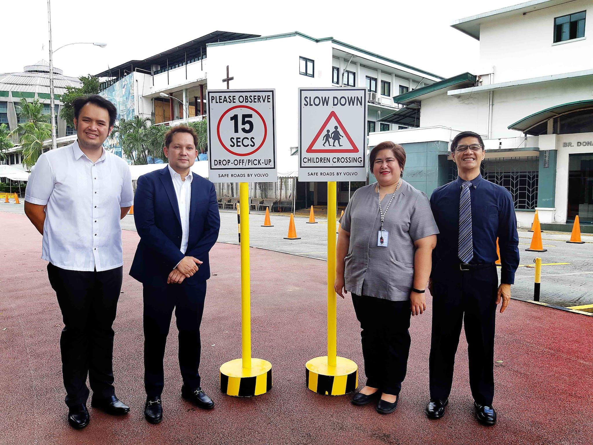 Volvo PH's Safe Roads Program Heads to La Salle Green Hills