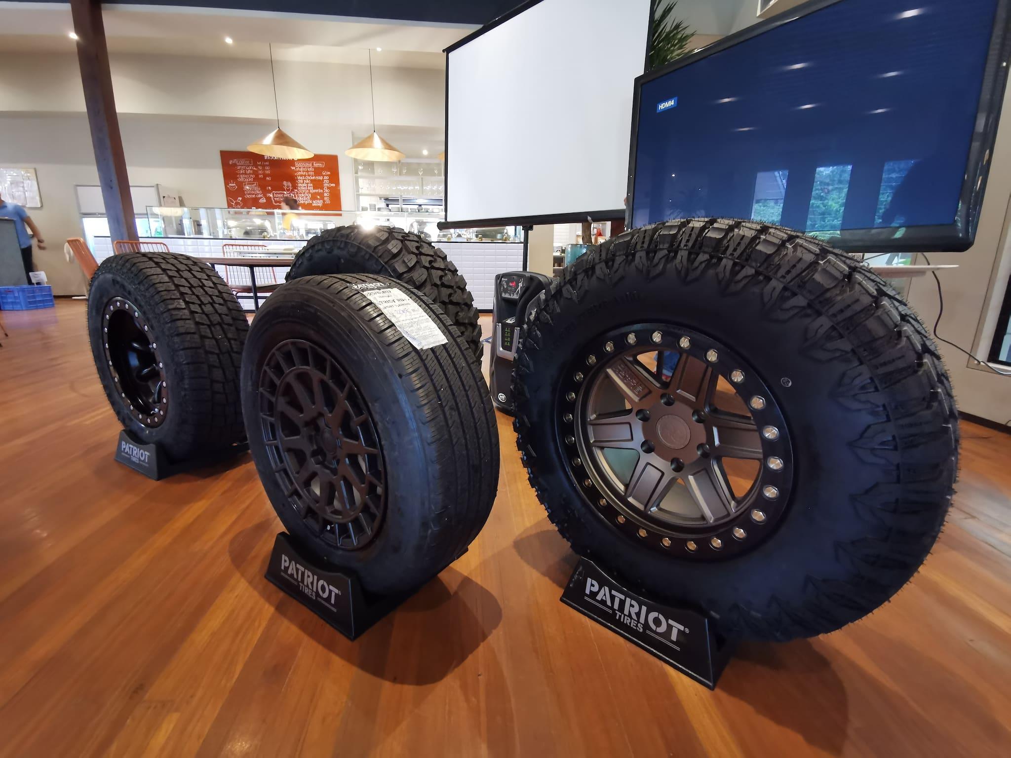 Patriot Tires Now in PH