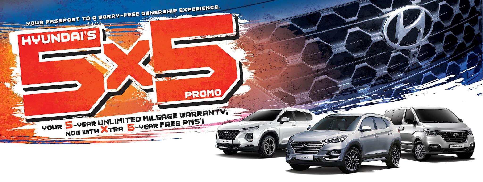 Keep Calm and Worry No More with Hyundai's 5x5 Promo