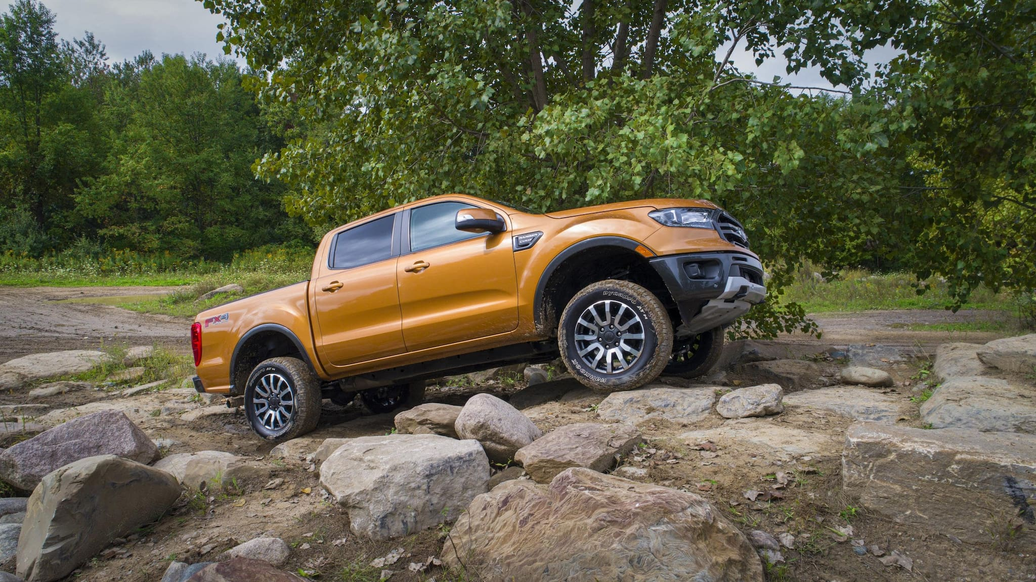 Ford Offers Off-Road Leveling Kits for Ford Ranger--in the US
