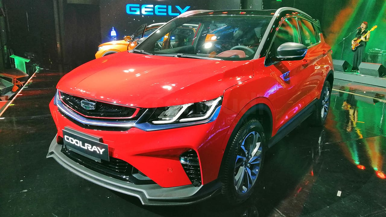 Sojitz G Auto PH Formally Launches Geely Brand  with Coolray SUV