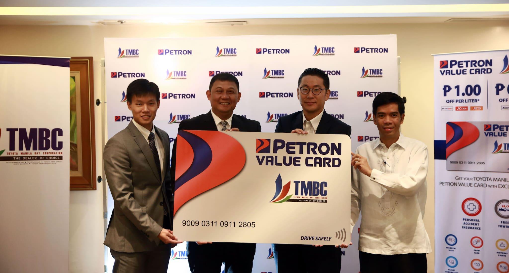 Toyota Manila Bay Chooses Petron as New Fuel Partner