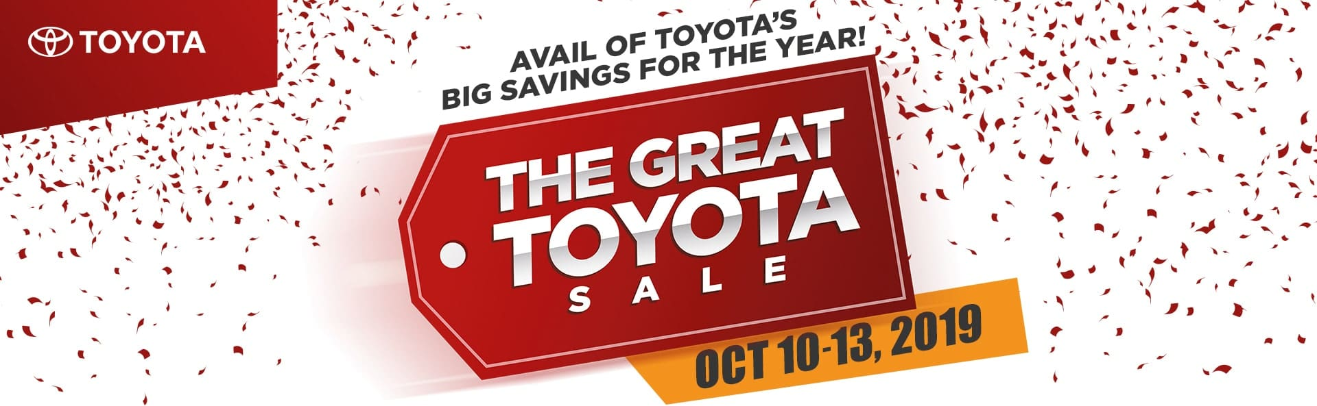 Toyota PH to Hold Big Clear-Out Sale Next Week