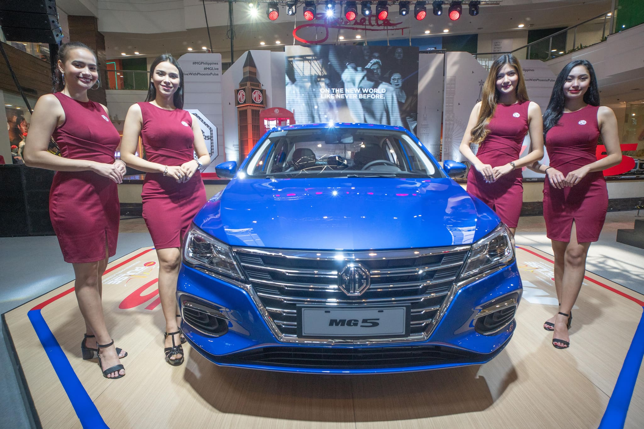 2020 MG 5 Sedan Makes Metro Manila Debut with Special MG Live! Concert