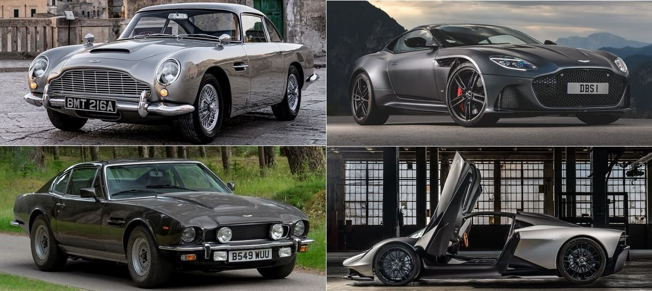 Upcoming James Bond Flick Will Feature 4 Aston Martins