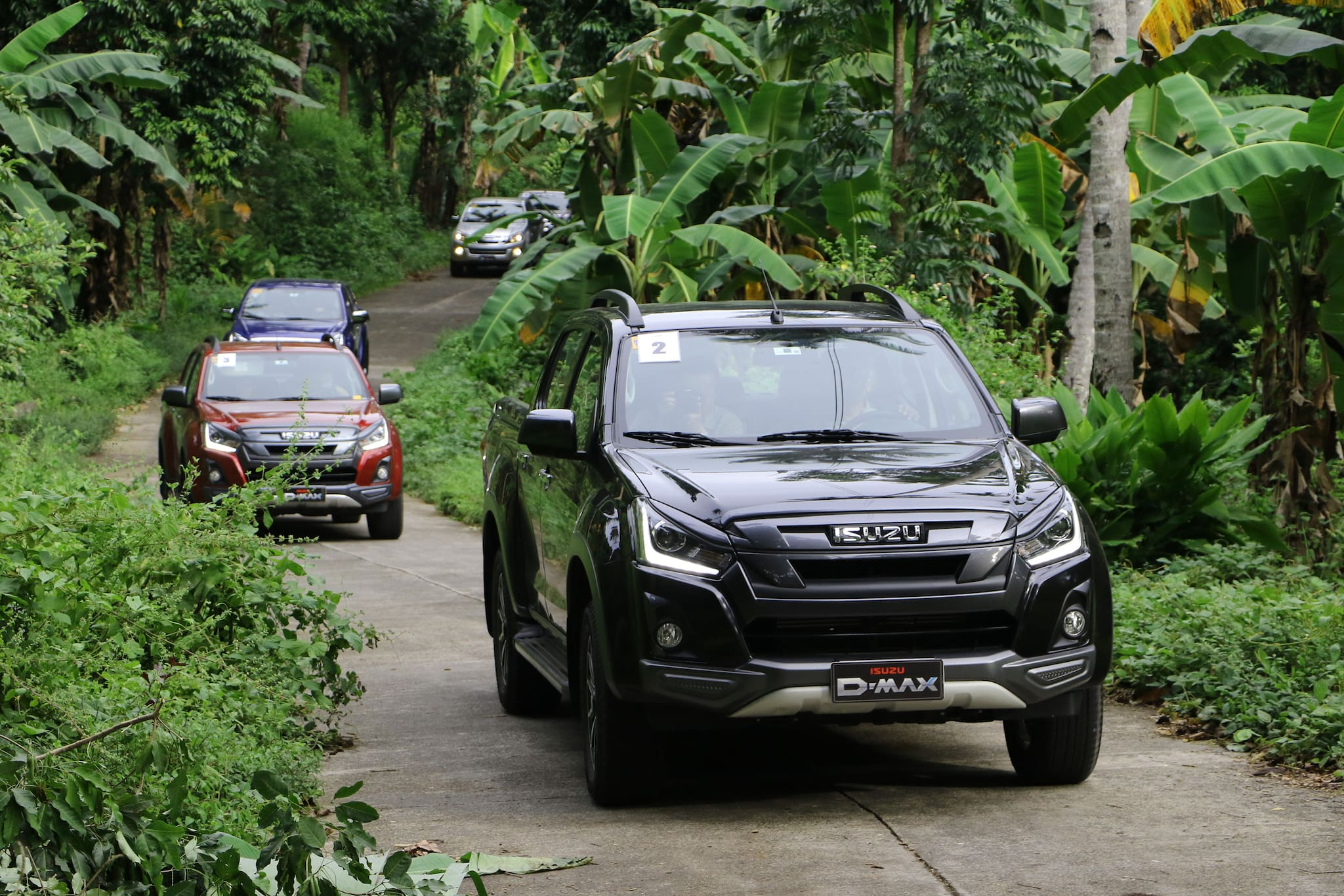 New Isuzu D-MAX LS-A Takes On Premier Spin on Scenic Camiguin
