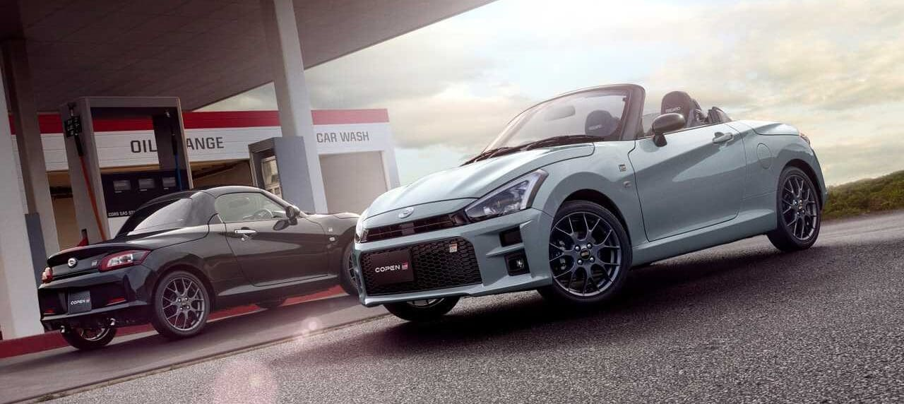 Toyota Sprucing up a Daihatsu Copen Will Make You Think Twice About Kei Cars