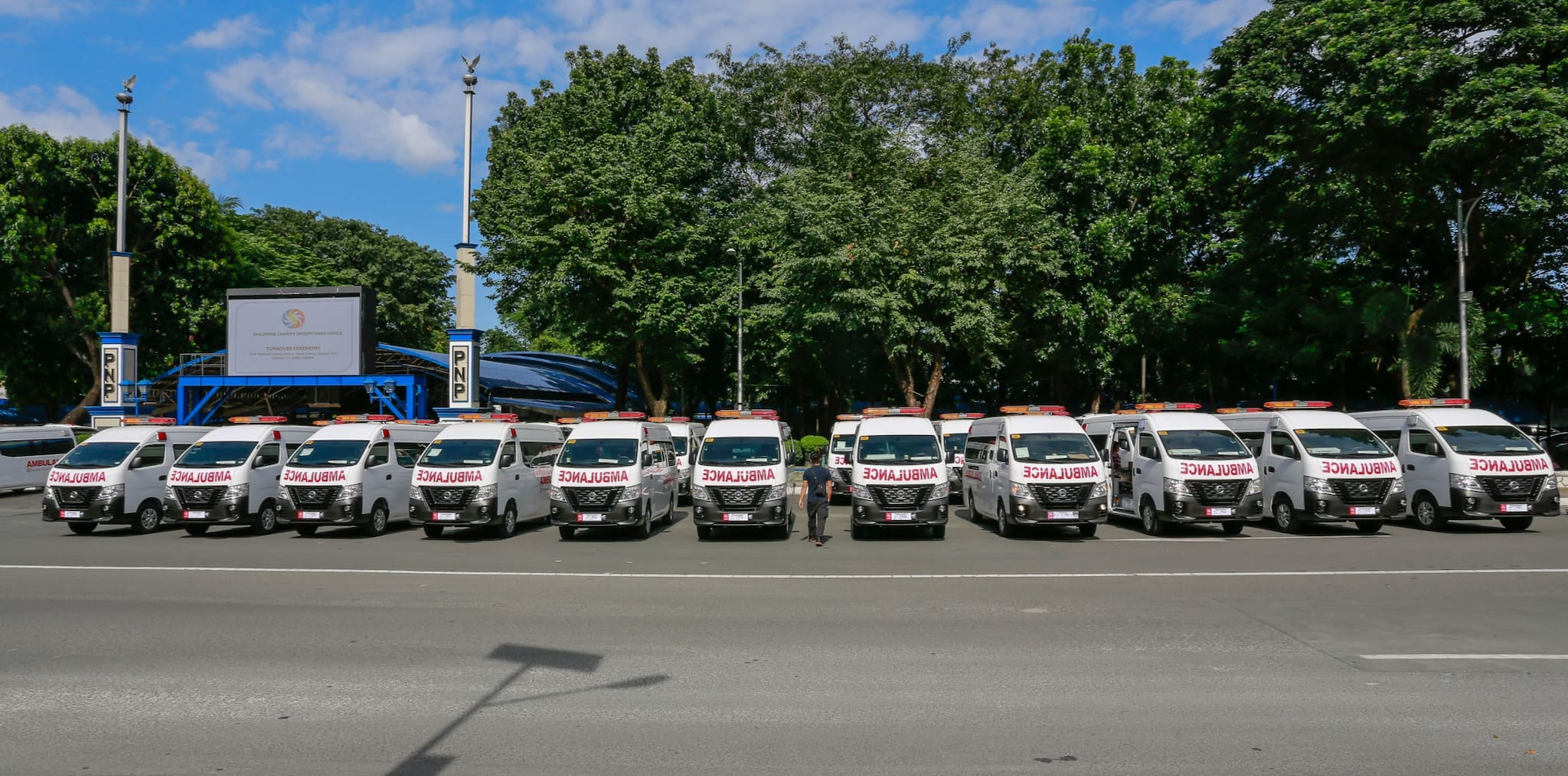 Hospitals, Facilities Get New Nissan NV350 Urvan Ambulances from PCSO