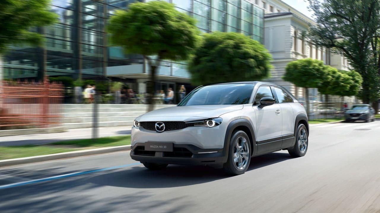 Mazda Unveils First Production EV in Mazda MX-30