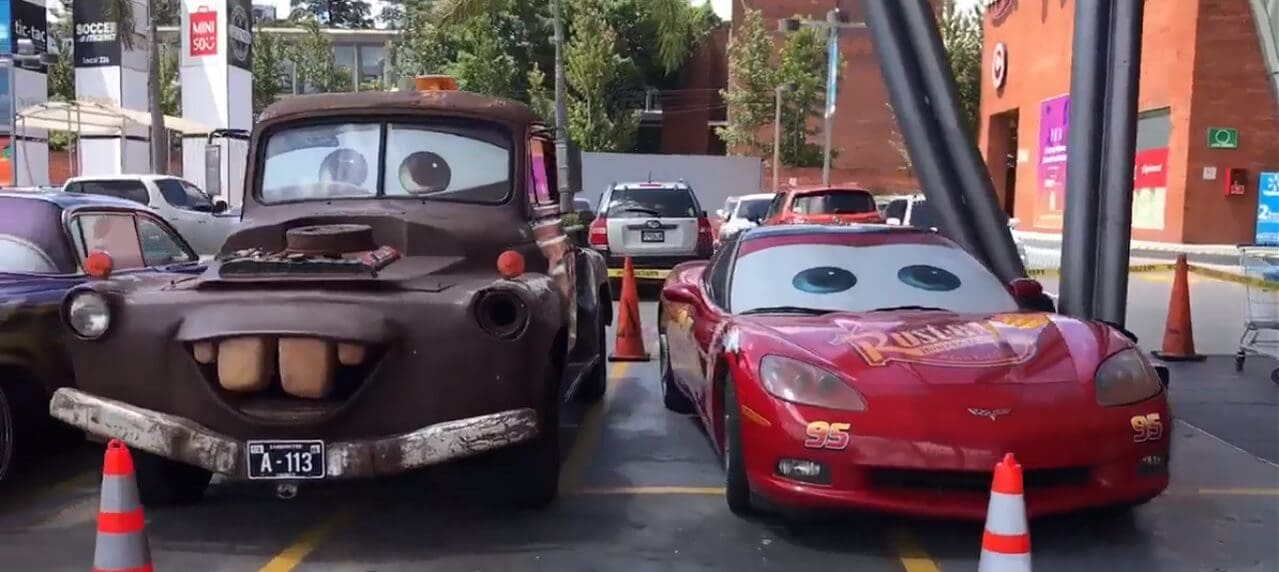 Check Out This Real Life Depiction Of Disney Pixar S Cars Characters