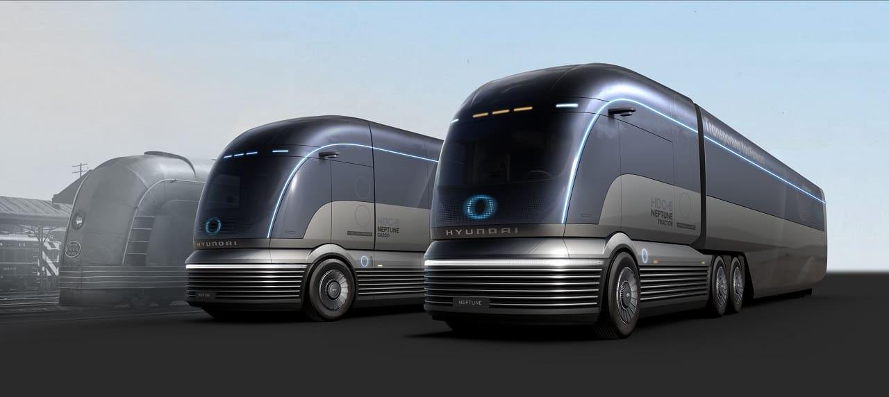 Hyundai Debuts HDC-6 Neptune Hydrogen Truck Concept