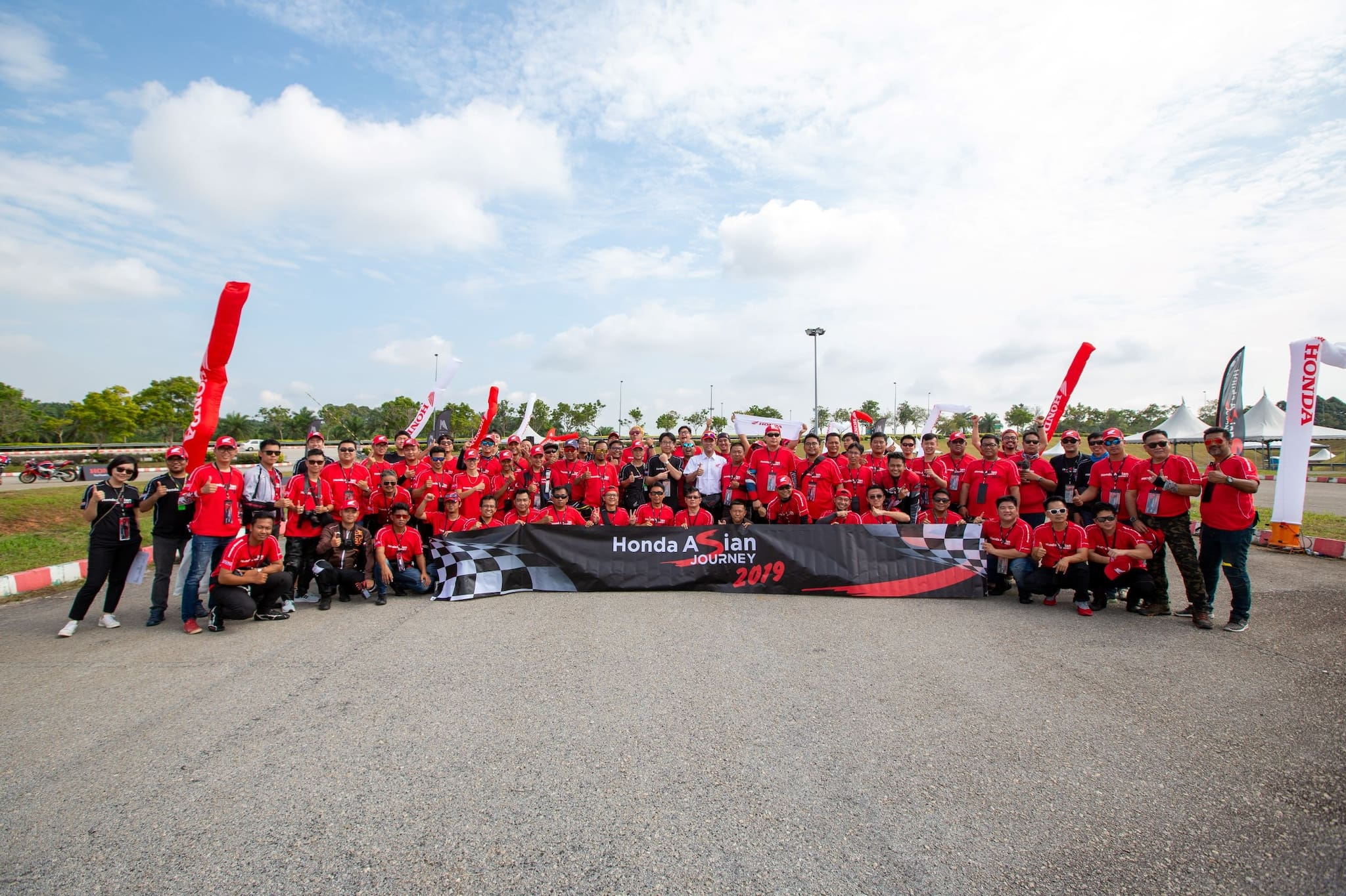 Honda Kicks Off 'Honda Asian Journey 2019', a Big Bike Cruise Through Malaysia to the MotoGP Race