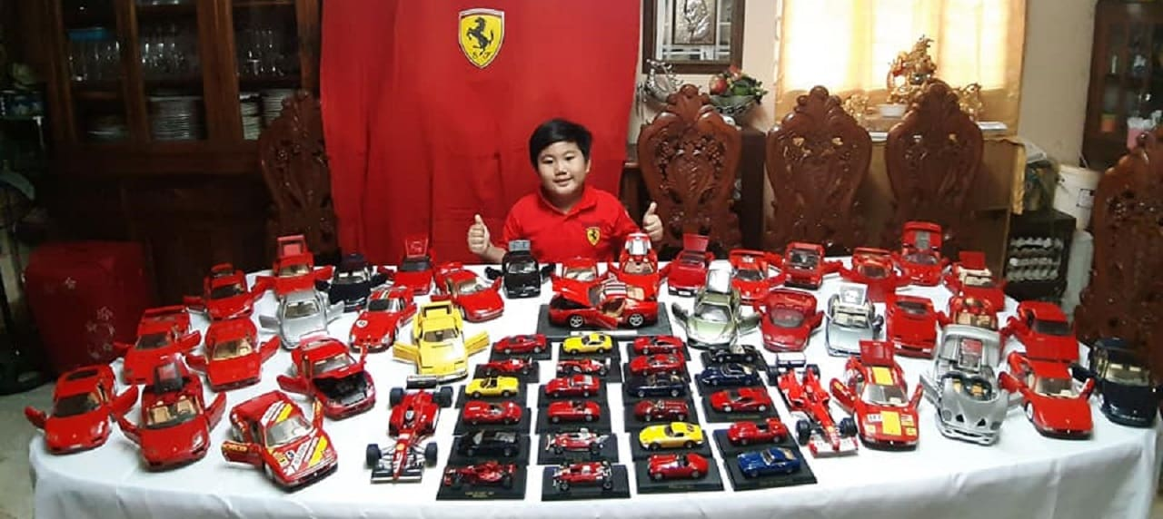 Father and Son's Toy Car Collection Worth PHP1.5 M