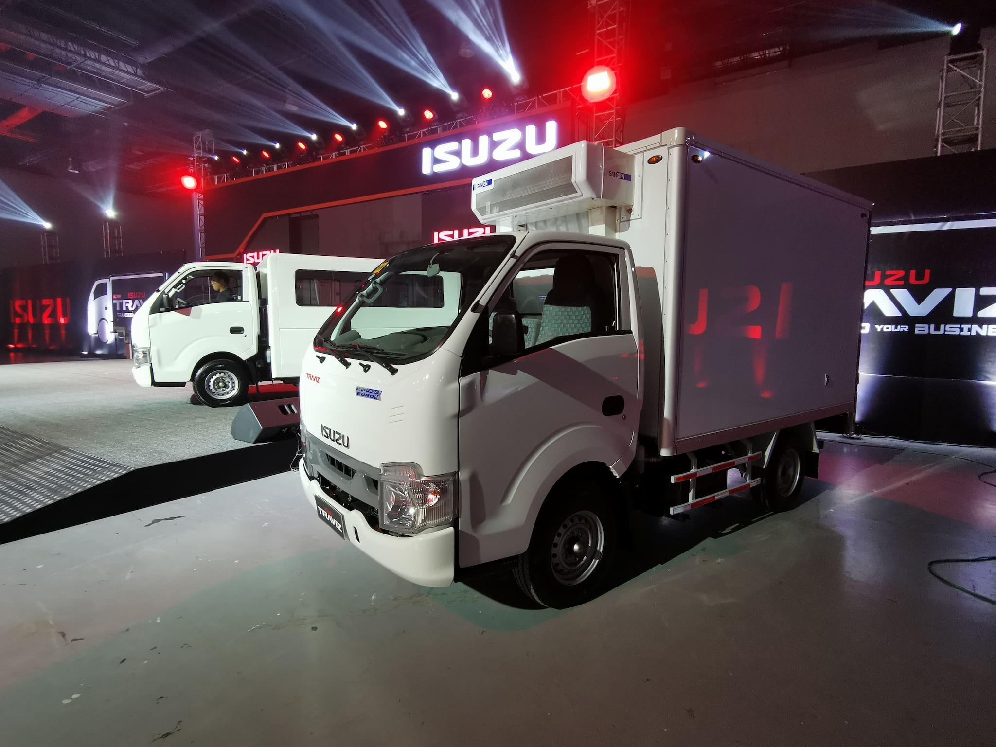 Isuzu PH Unveils All-New Traviz