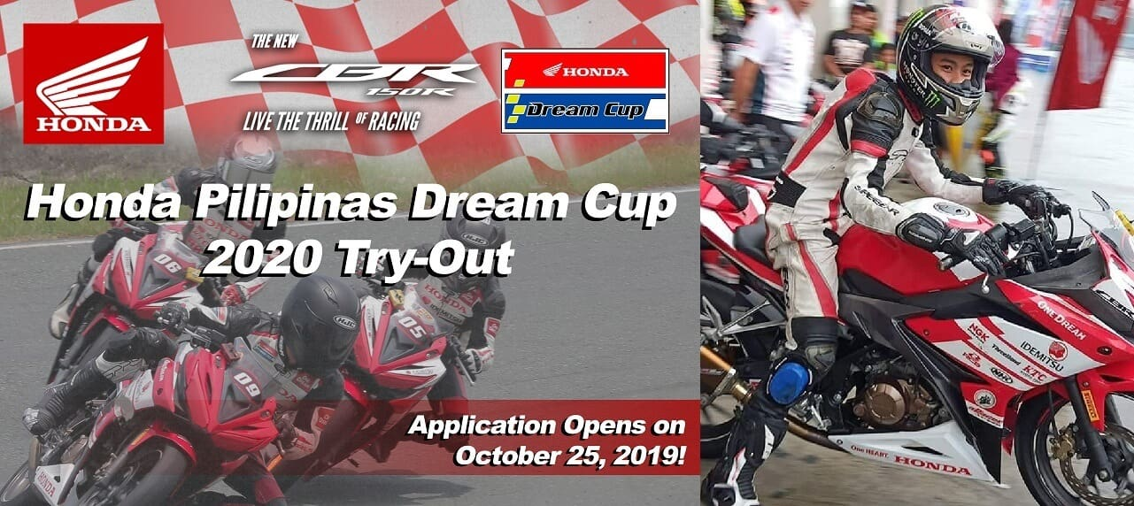 2020 Honda Pilipinas Dream Cup , in Search for New Breed of Riders