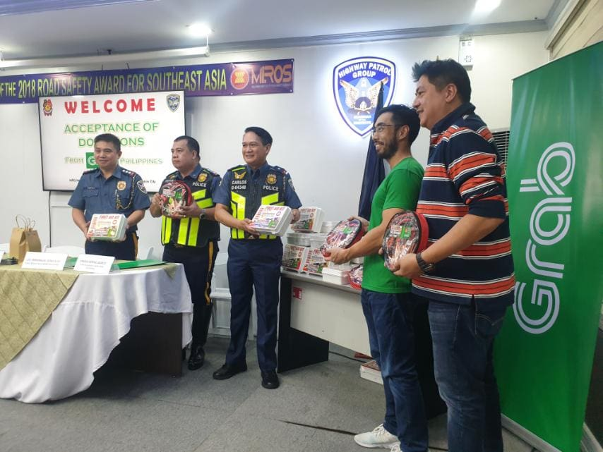 Grab, PNP-HPG partners anew to ensure road safety during Holiday season