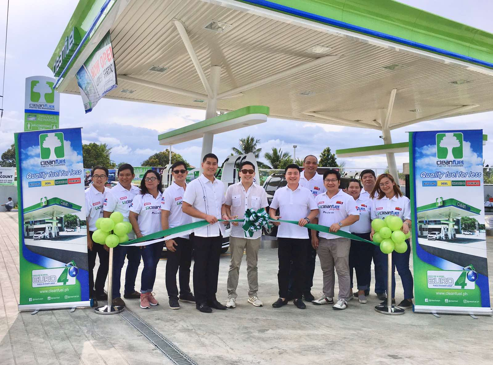 Cleanfuel Aggressively Expands Retail Stations in South Luzon