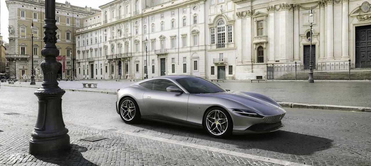 The Ferrari Roma Is a Sleek and Stylish Supercar