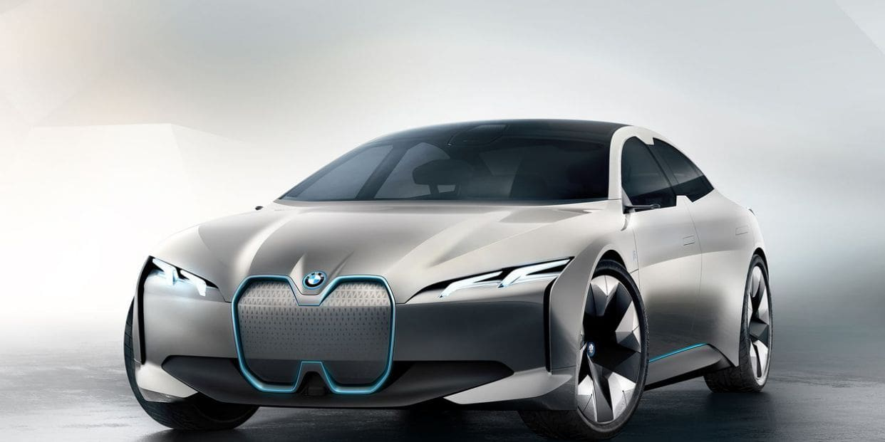 BMW Teases All New Electric i4