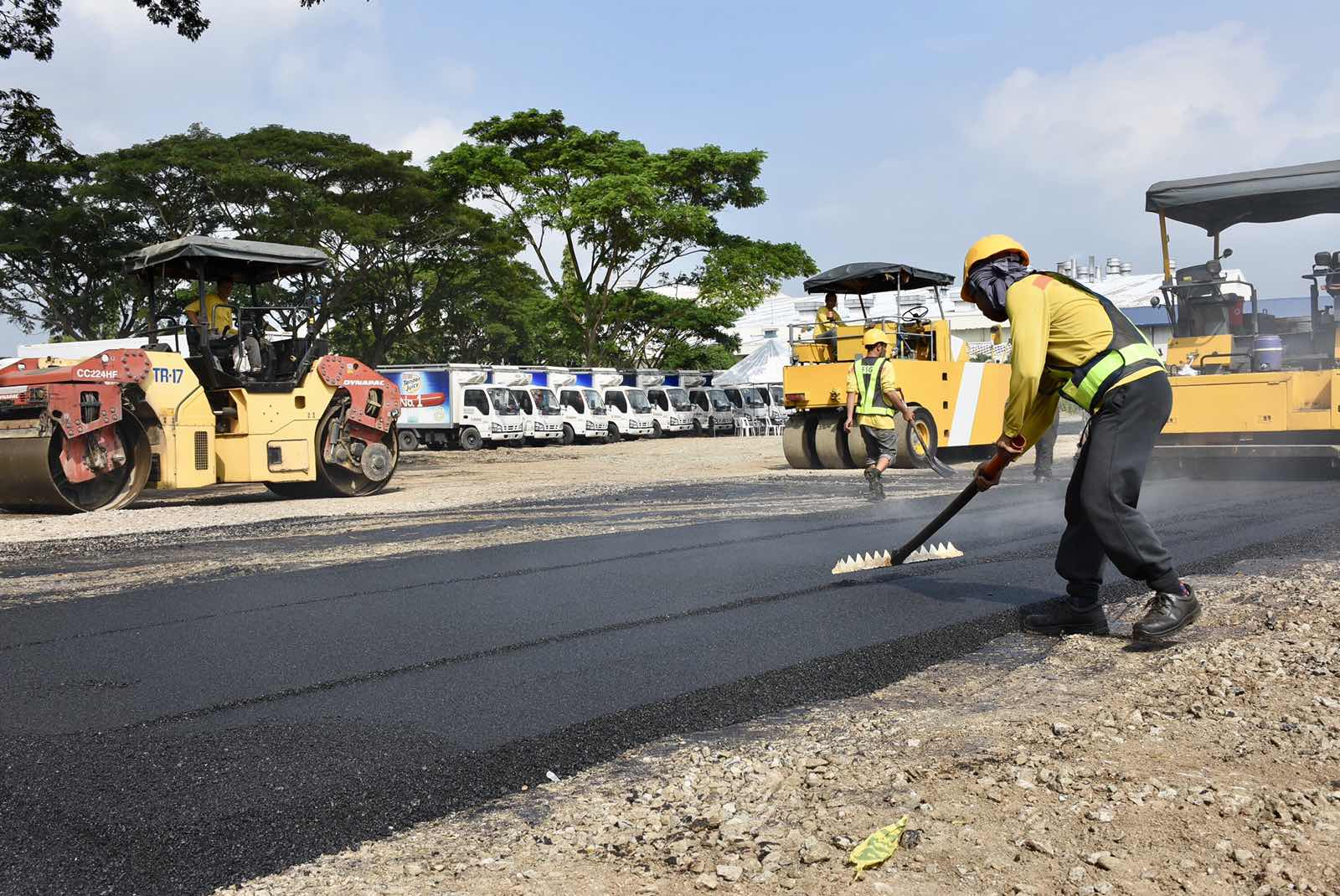 PH debuts 'green' road made from recycled plastics