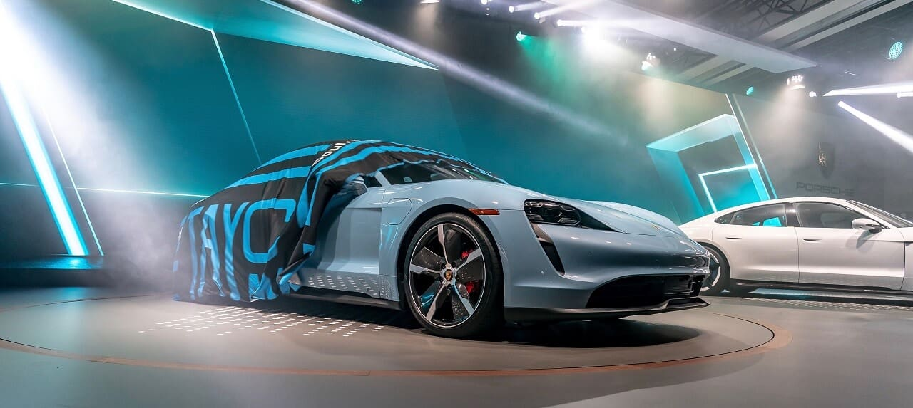 Porsche Taycan 4S Makes Big Splash at 2019 LA Auto Show