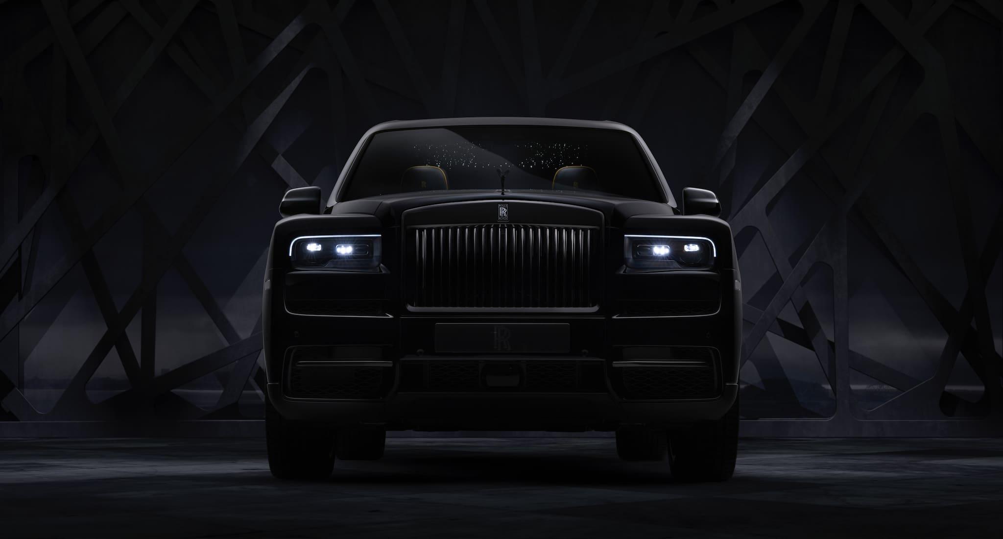 Rolls Royce Cullinan joins Black Badge Family