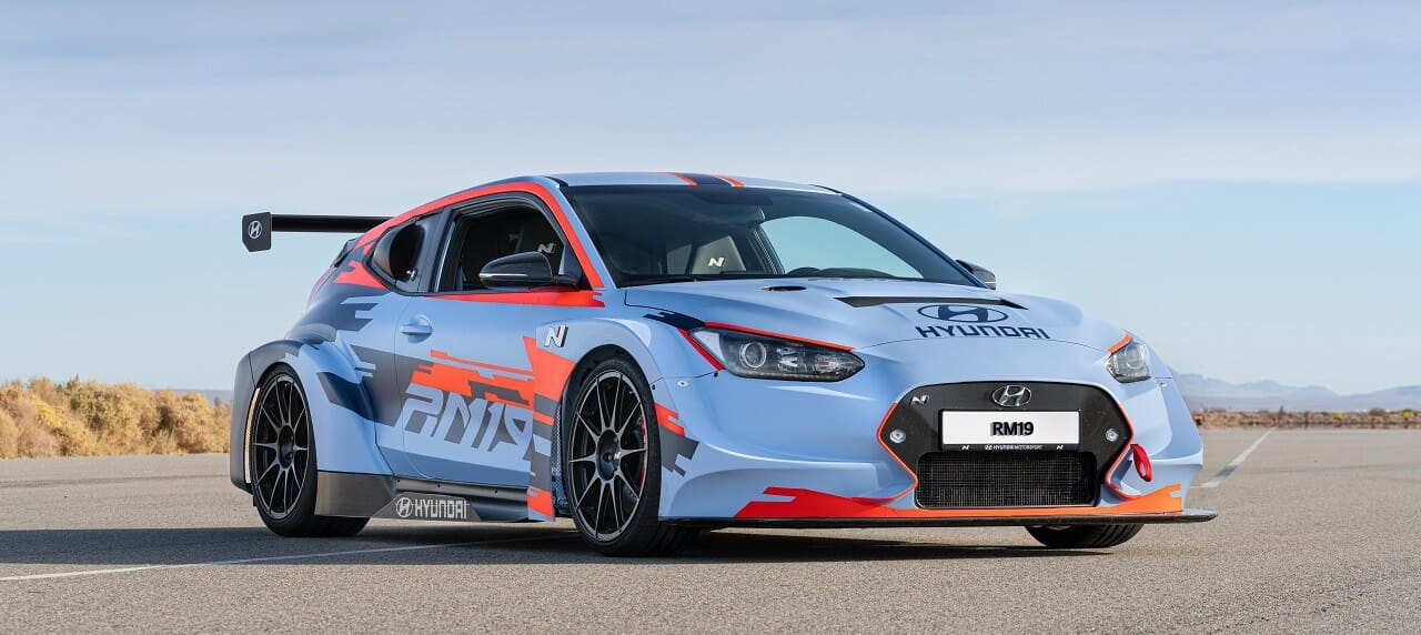 The Hyundai RM19 Concept Shows What a Mid-Engined Veloster Looks Like