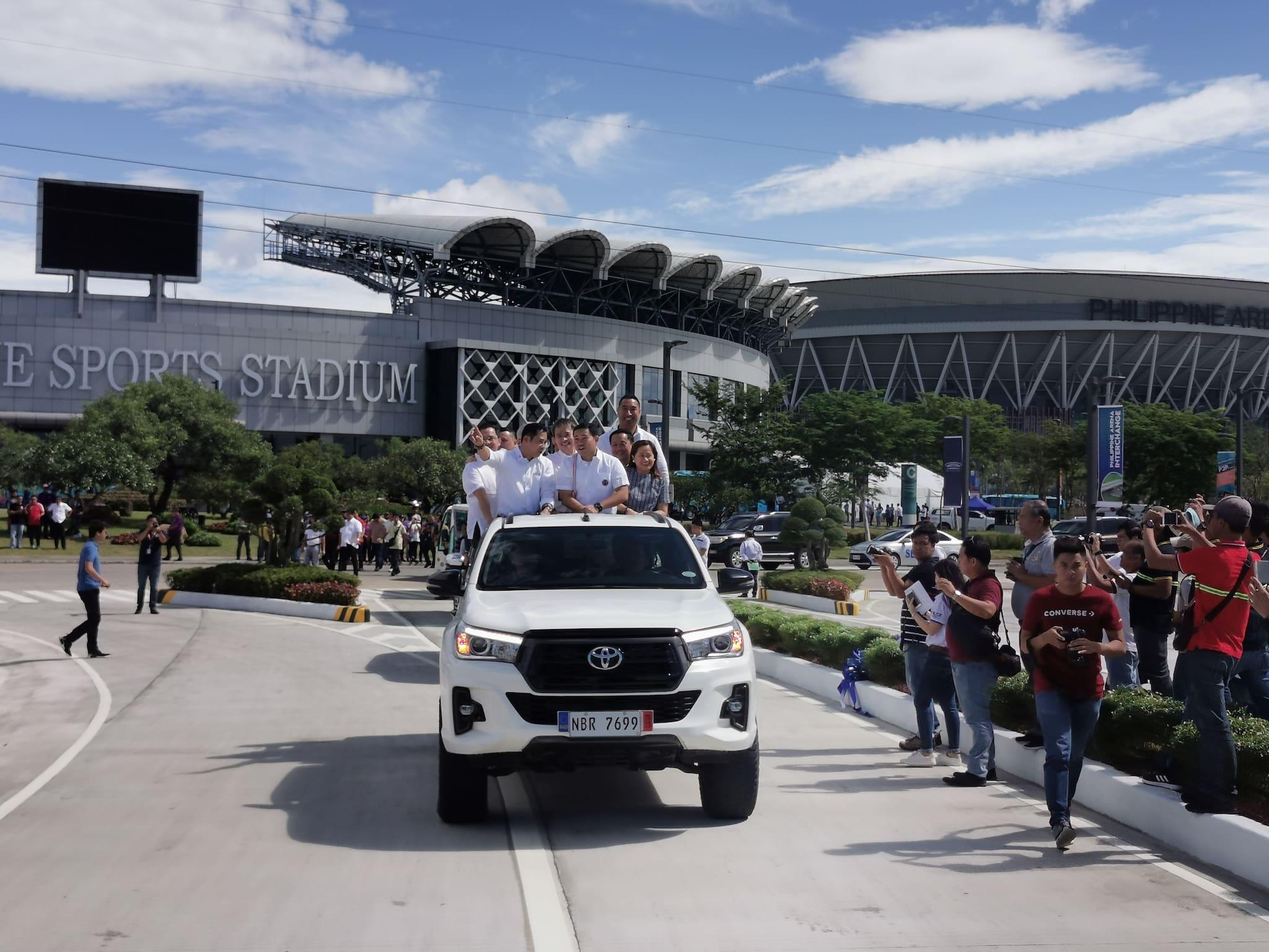 NLEX Philippine Arena Interchange now open