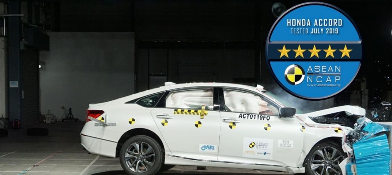 2020 Honda Accord Scores 5-Star Rating from ASEAN NCAP