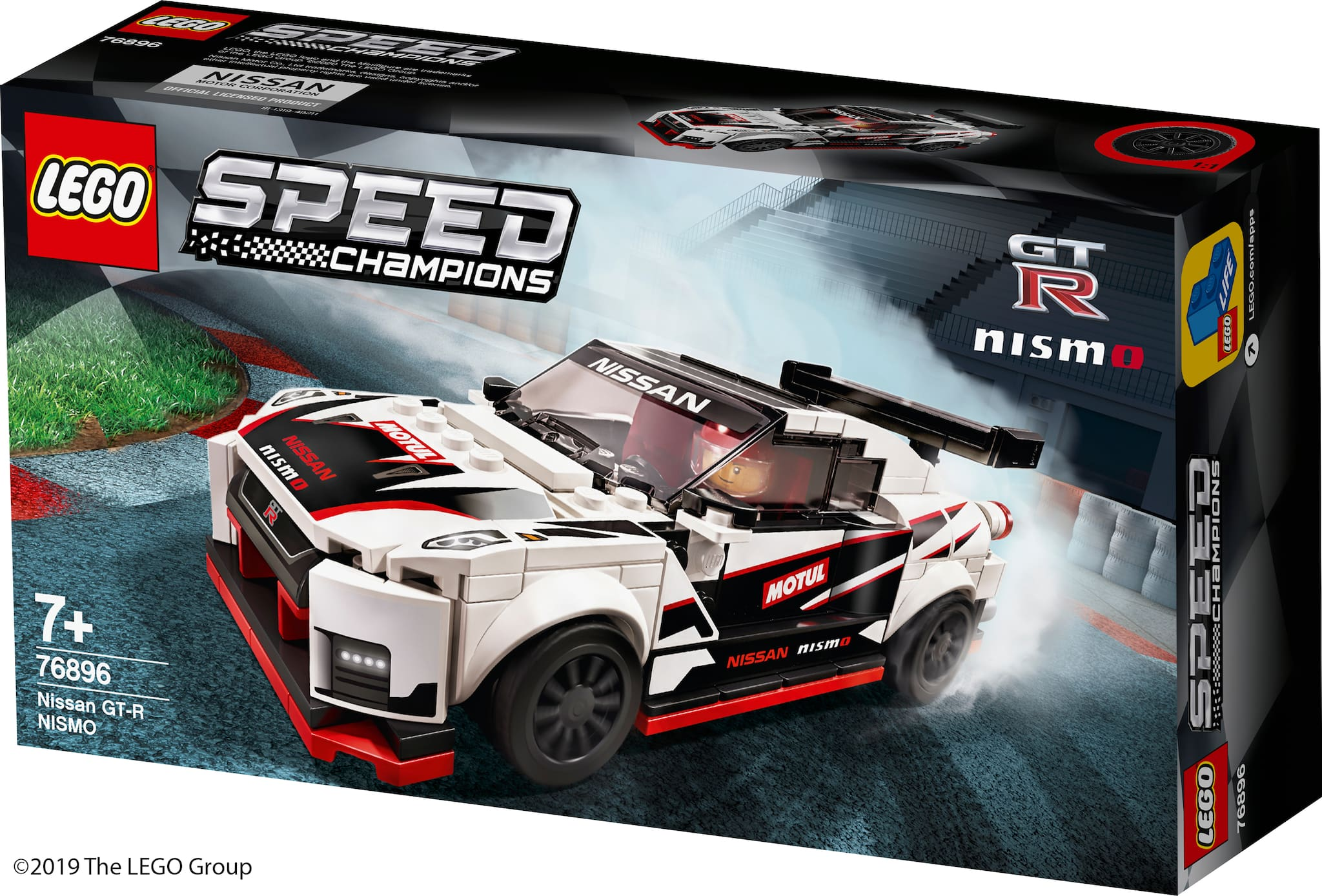 The Nissan GT-R Nismo Now Has a LEGO Version