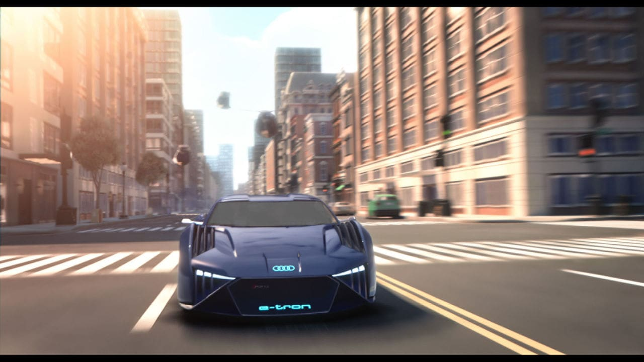 Audi Has Created Its First-Ever Concept Car Exclusively for an Animated Film