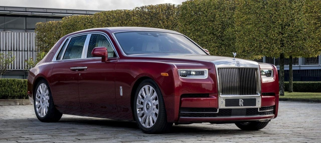 Classy With a Cause: Rolls-Royce Bespoke Red Phantom