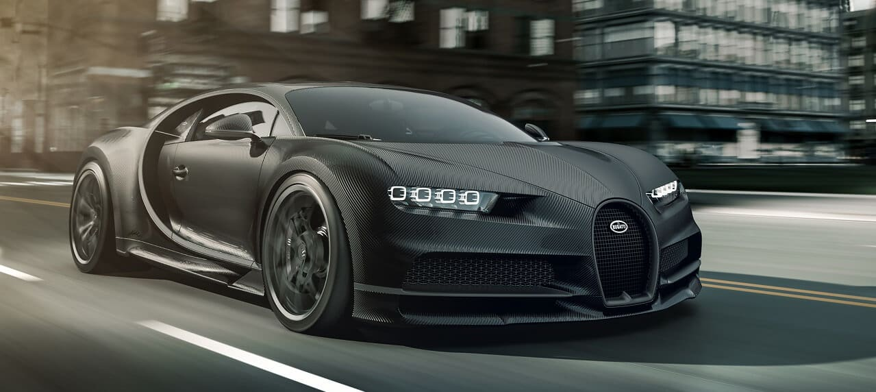 Bugatti Announces the Chiron Noire, an 'Affordable' Version of Their Most Expensive Car