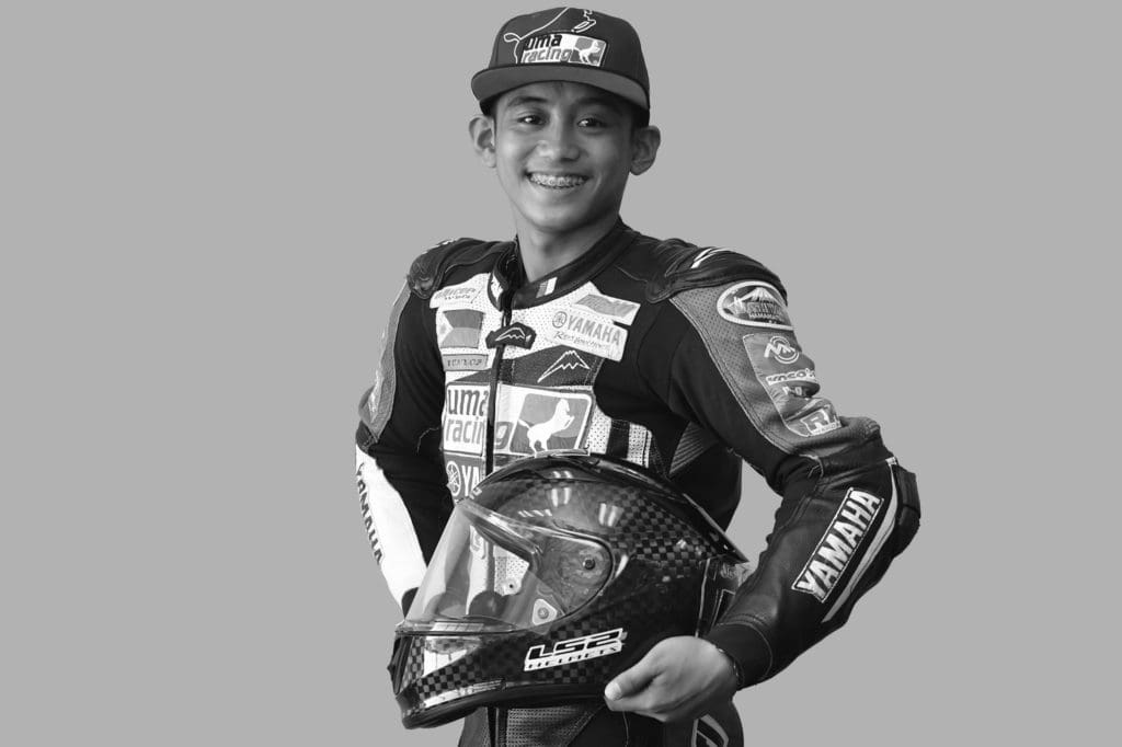 Yamaha rider Amber Torres, 16